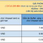 Voucher Vinpearl Golf Land Nha Trang hưởng kỳ nghỉ 5* giảm 45% giá