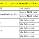 Xu hướng sử dụng voucher nghỉ dưỡng biệt thự FLC Quy Nhơn giá rẻ