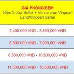 Bảng giá voucher vinpearl – Chi tiết và tiết kiệm nhất bạn cần biết